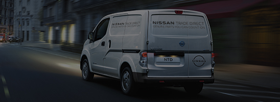 Daily Nissan Trade Direct parts delivery van
